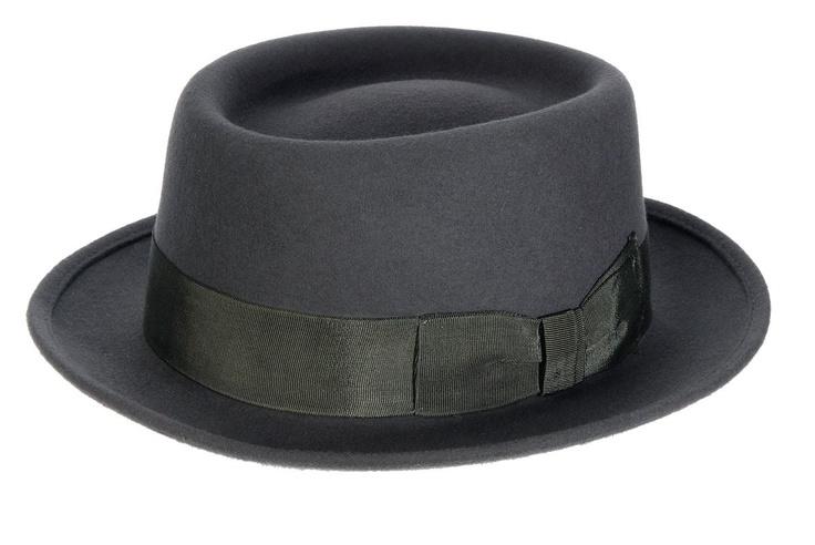 Classic Pork Pie Hat Grey £37.00