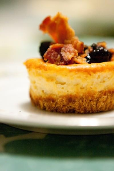 maple blueberry bacon cheesecake... | ...what's cookin' good looki ...