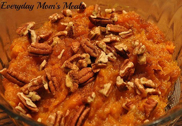 Maple Mashed Sweet Potatoes | Side Dishes | Pinterest