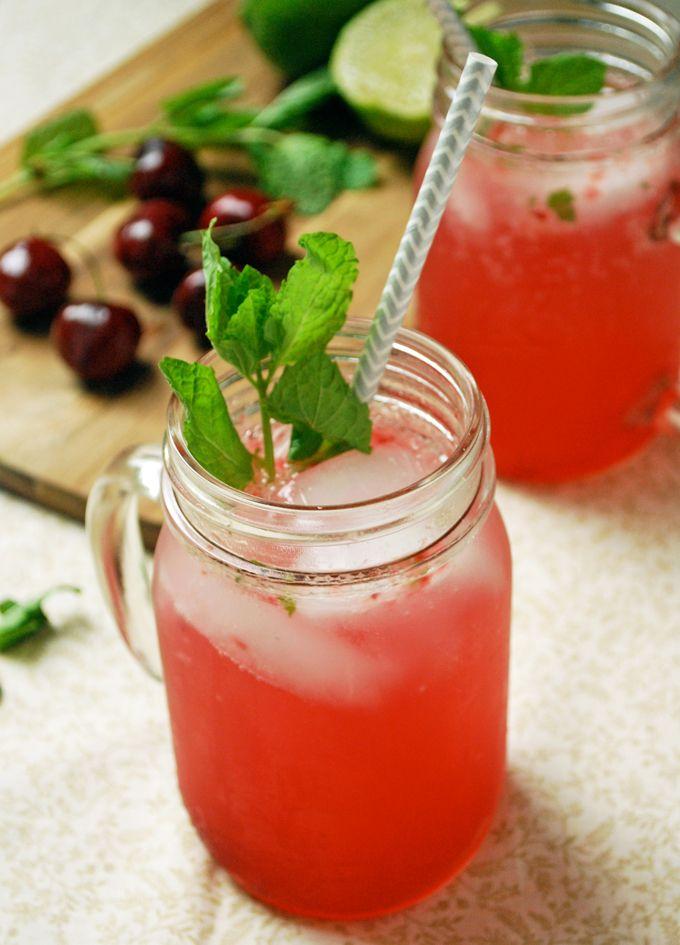 Cherry Mojitos - So bright and refreshing! #ad #WalmartProduce