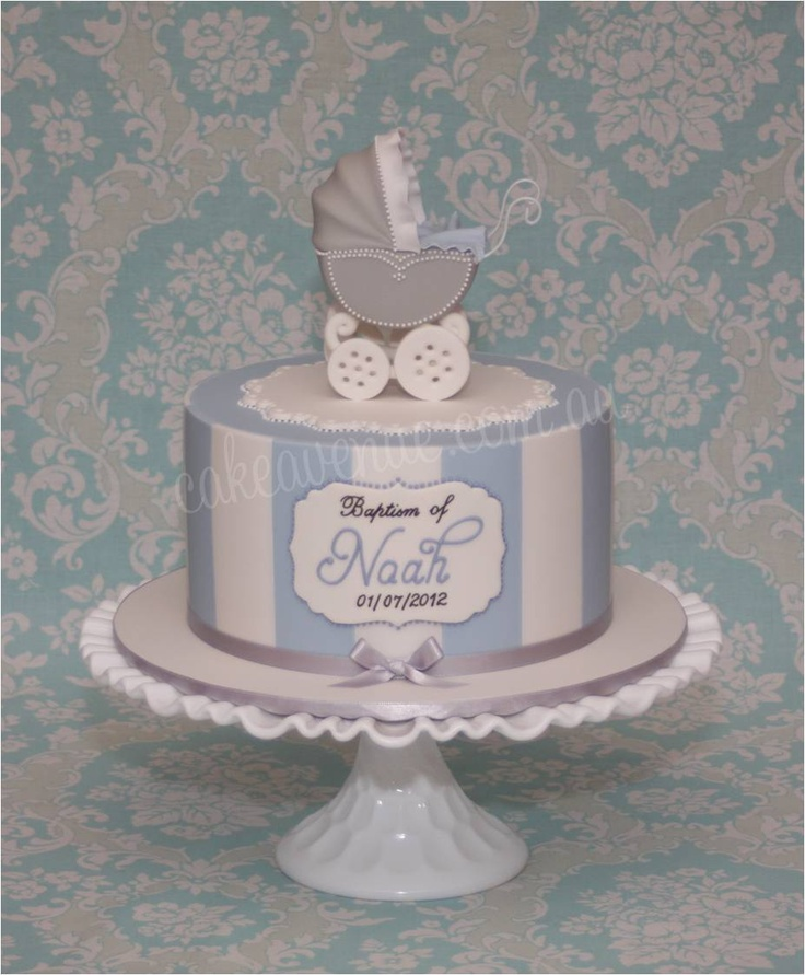 vintage pram cake baby shower cakes cribs carriages pinterest