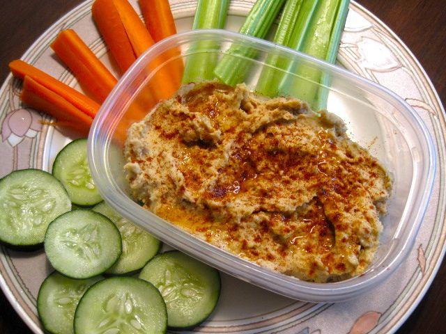 basic hummus | my food blog | Pinterest