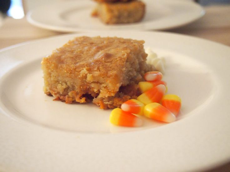 White Chocolate Candy Corn Blondies and a #giveaway on my blog! Don't ...