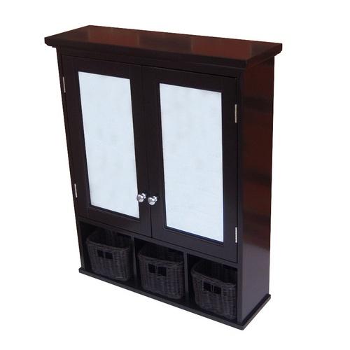 Allen roth x mdf surface mount medicine cabinet l - Allen roth bath cabinets ...