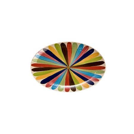 I pinned this Oval Platter in Tango from the Gail Pittman Collections event at Joss and Main!