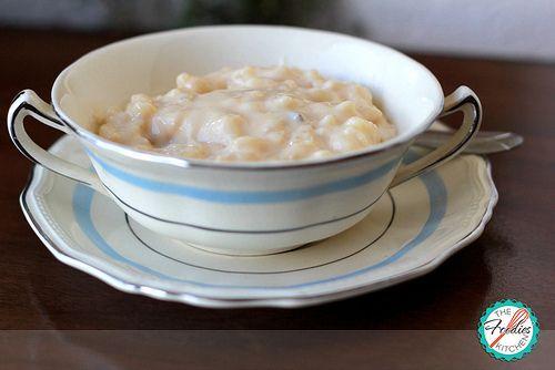 Arborio Rice Pudding Recipe — Dishmaps