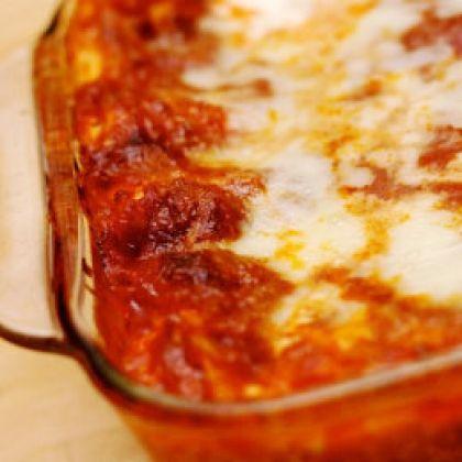 Easy Lasagna | Recipes | Spoonful | I Love Food!!! | Pinterest
