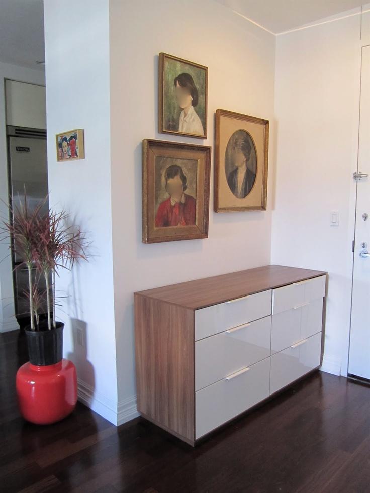 nyvoll six drawer dresser in the entry i k e a f i n d s pinterest. Black Bedroom Furniture Sets. Home Design Ideas
