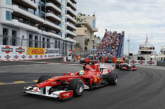 2010 monaco grand prix qualifying bbc