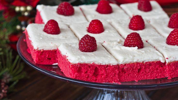 Red Velvet Sheet Cake   http://www.jocooks.com/bakery/cakes/red-velvet ...