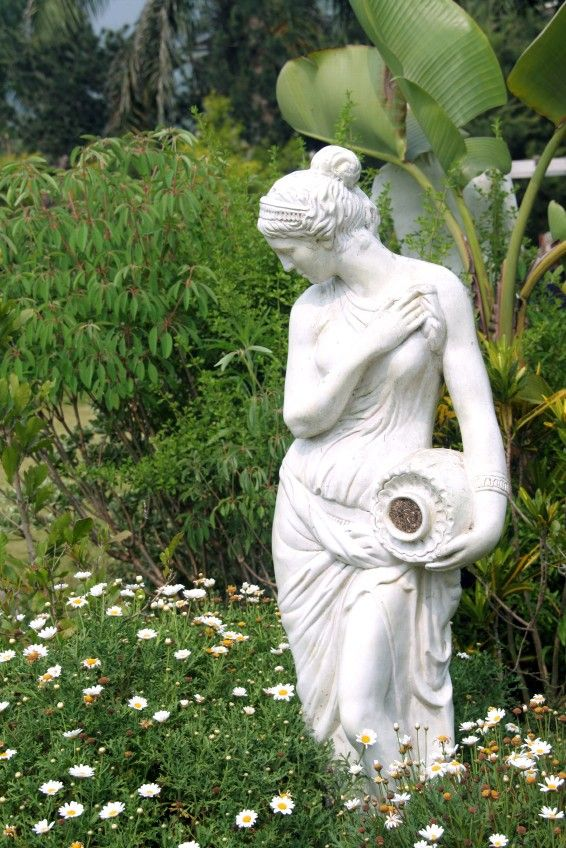 Pin by lisa skelton johnson on gardens pinterest for Outdoor garden ornaments