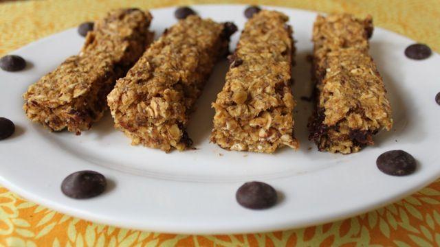 Pumpkin Chocolate Chip Energy Bars   Dessert Ideas   Pinterest