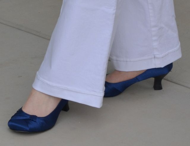 Jellypop shoes in royal blue
