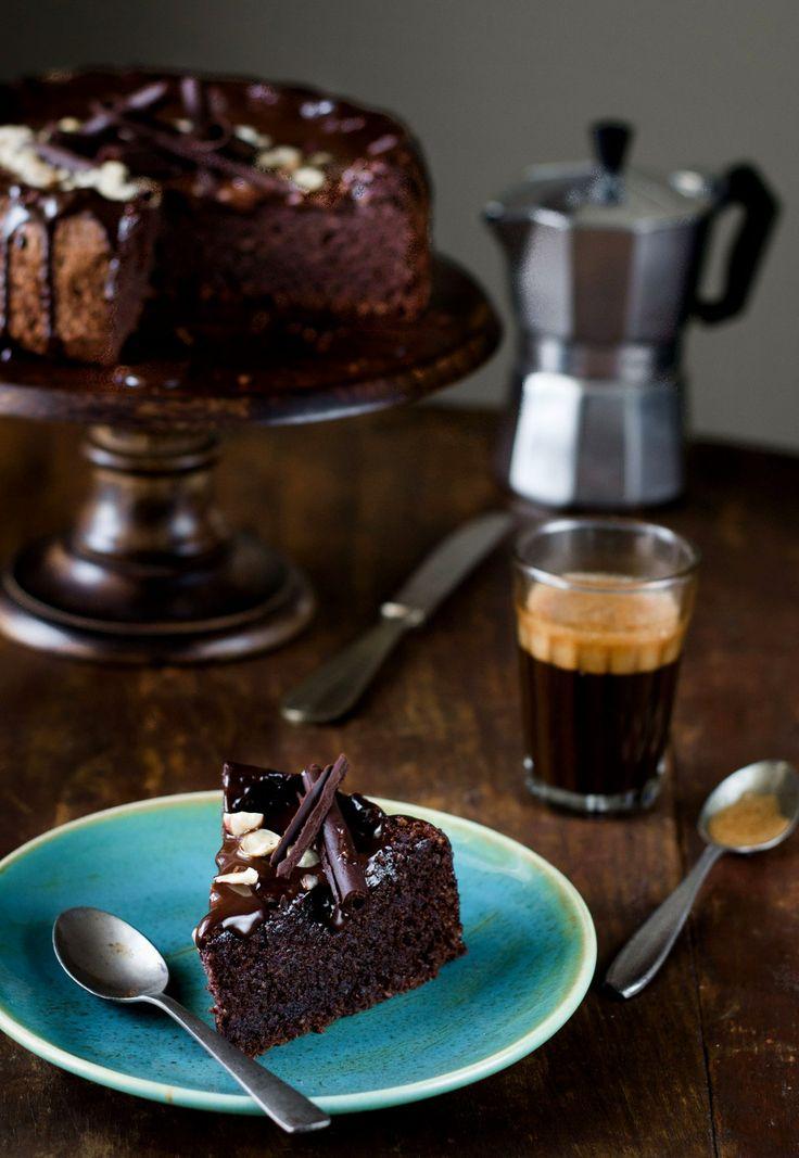 Flourless Chocolate Hazelnut Cake, Gluten Free