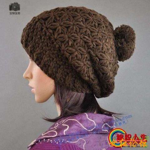 Crochet Flower Hat Diagram
