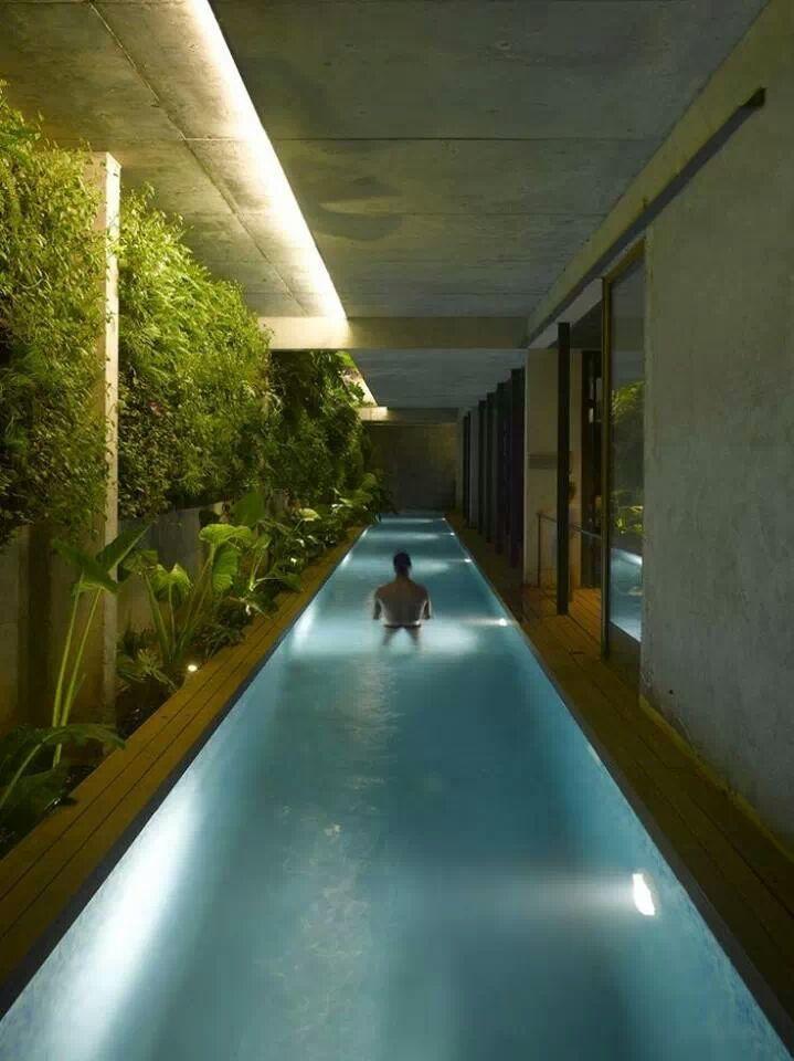 Indoor Lap Pool Houses Water Pinterest
