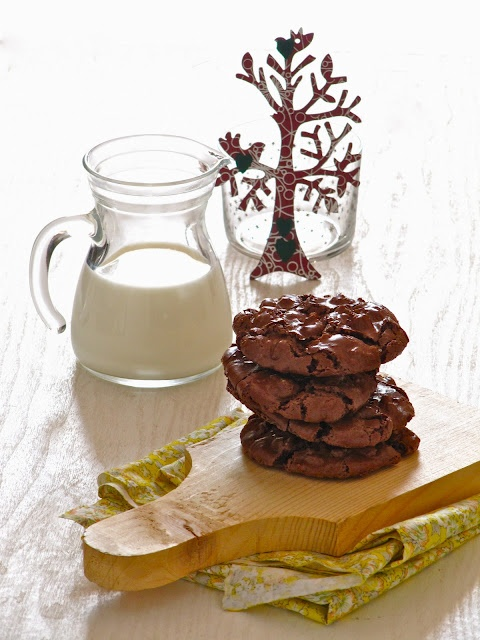 chocolate puddle cookies (grain free/dairy free)