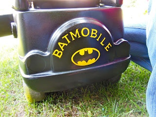 Batmobile cozy coupe little tykes cozy coupe makeovers pinterest