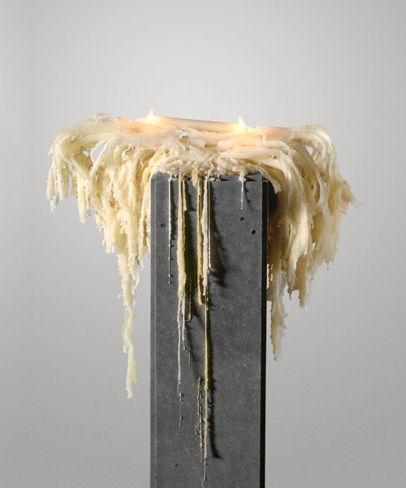 Urs Fischer - Untitled (Candle) 1999