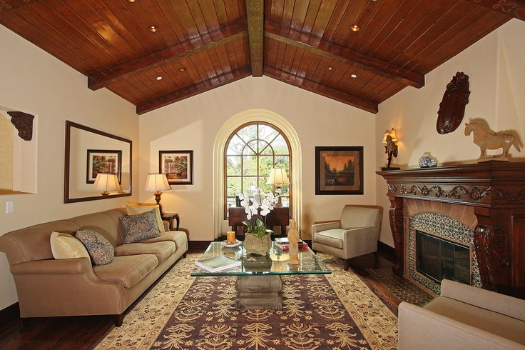 Spanish Mission Style Living Rooms I Want To Live In Pinterest
