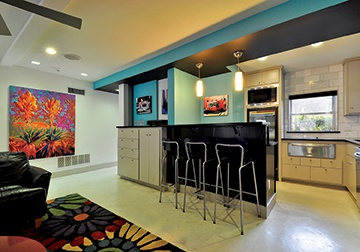 A (Fourth) Life in Living Color, Austin-San Antonio Urban Home Magazine, by Panache Interiors and Barley & Pfeiffer Architects. Photo by Allison Cartwright/Twist Tours.