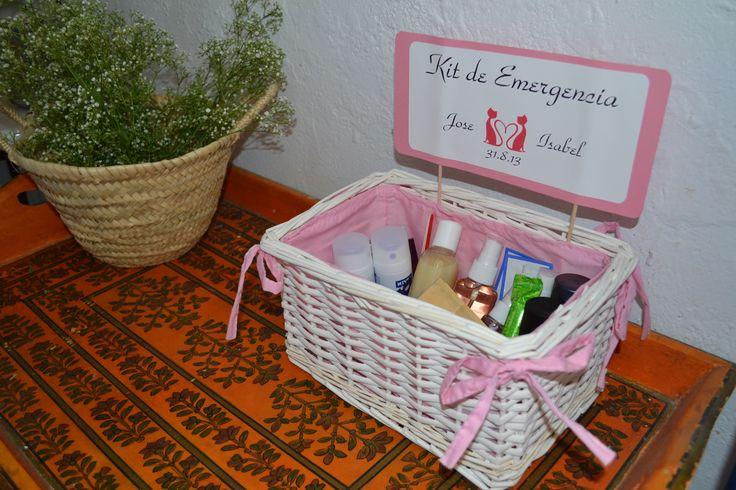 Decoracion Baño Boda:Kit Emergencia Para Bodas