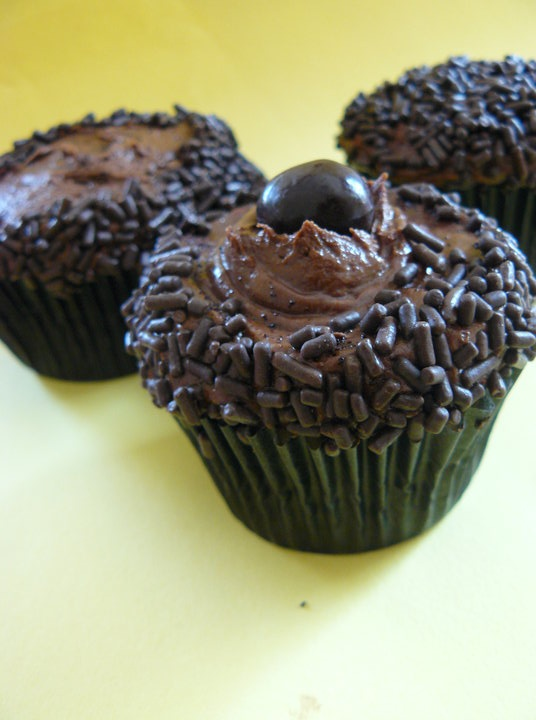 chocolate espresso cupcakes | Food - Cupcake Delights! | Pinterest
