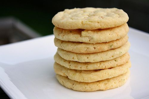 Tracey's Culinary Adventures: Chewy Lime Sugar Cookies