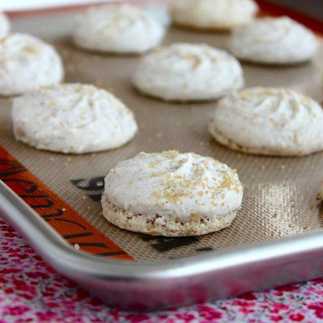 Amaretti Cookies | ButtercreamBlondie.com