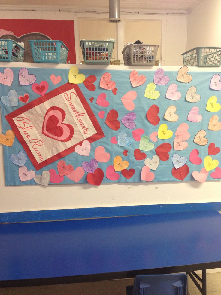 Valentines day bulletin board. | it's elementary | Pinterest