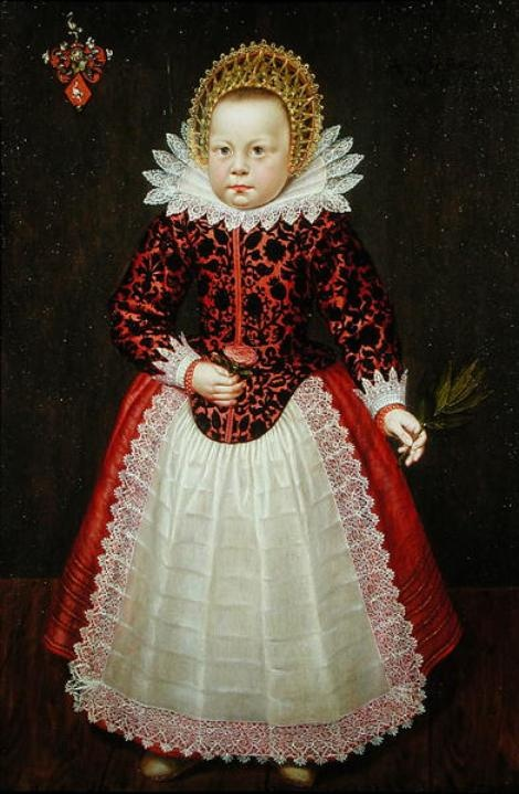 Anonymous, Portrait of a Child - Private Collection