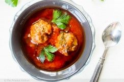 Spicy Moroccan Meatball Tagine   Noms   Pinterest