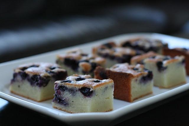 blueberry vanilla mochi cake | Yummy things! | Pinterest