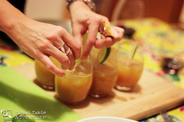 Killer Bee Cocktail with Black Pepper & Nutmeg | Recipe