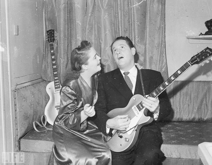 Pin By Les Paul Foundation On Les Paul And Mary Ford
