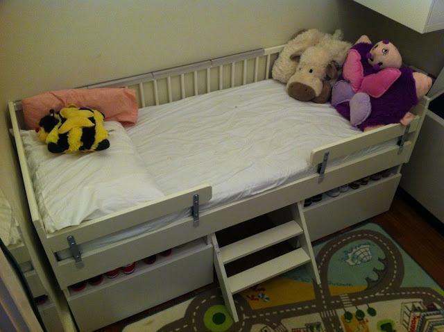 Ikea Kitchen Island Installation ~ DIY Toddler Captain's Bed  Kids Room  Pinterest