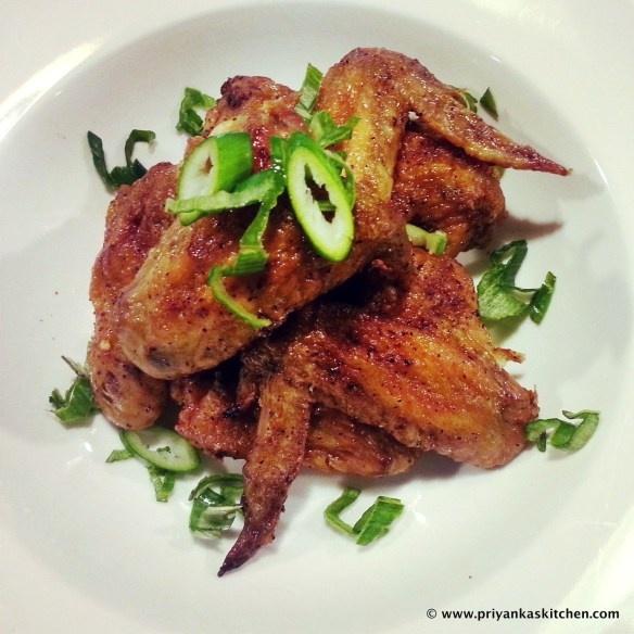 Sweet & Spicy Baked Chicken Wings! :) | Food I've Made! | priyankask ...