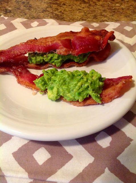 Paleo snack idea. Bacon avocado sammies! | Fitness and health | Pinte ...