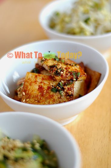 SEASONED TOFU/DUBU JOLIM (4 servings) | Recipe