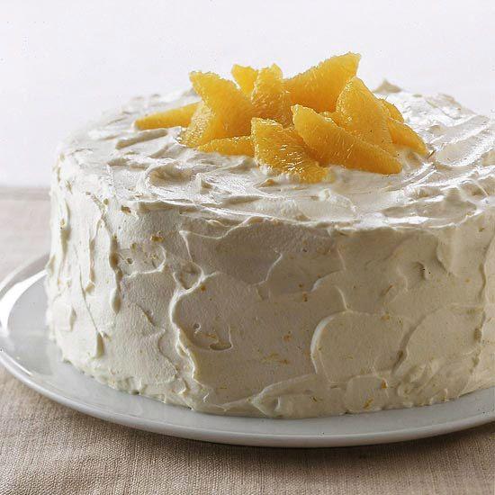 Orange Chiffon Cake is made with orange zest and juice -- then ...