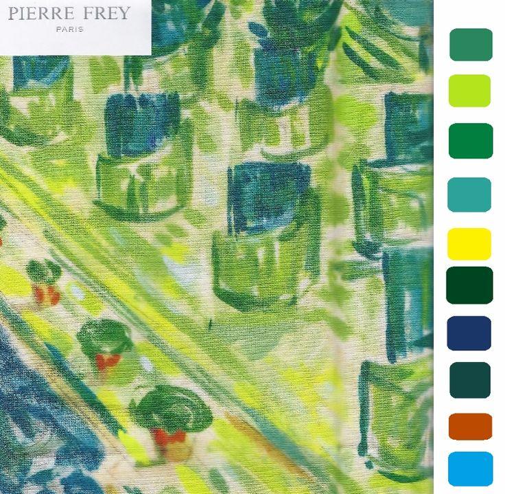 Pierre frey jardins fabric bts pinterest for Pierre frey fabric