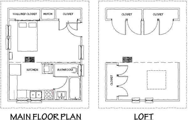 Small Accessory Unit Floor Plan Exteriors Pinterest