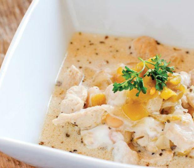 Savory & Quick Chicken Chili   Dinner Time!   Pinterest