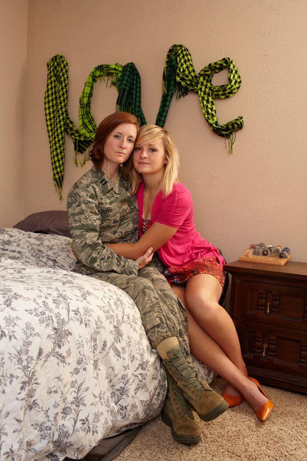 military lesbians