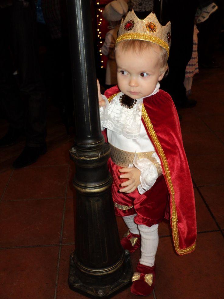 Детский новогодний костюм мальчика своими руками
