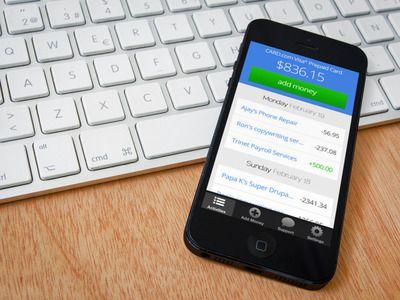 prepaid card mobile check deposit