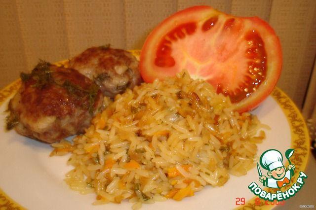 Что приготовить к рису на гарнир рецепт