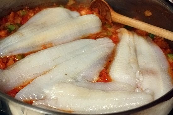 Skillet Cajun Spiced Flounder with Tomatoes | Recipe