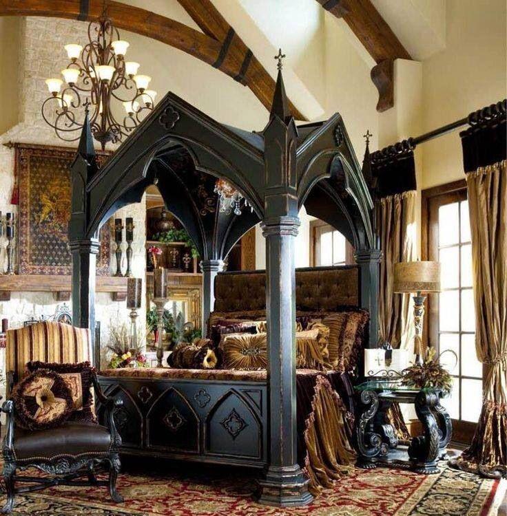 Victorian Gothic Bedrooms