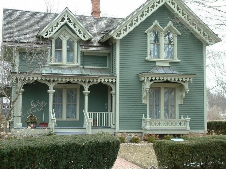 I Love The Gingerbread Trim Architecture Pinterest